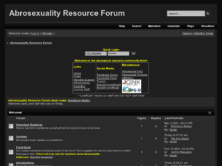Abrosexuality Resource Forum