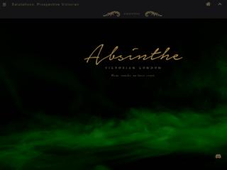 Screenshot of http://absinthe.jcink.net