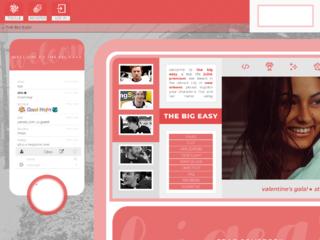 Screenshot of http://bigeasy.jcink.net