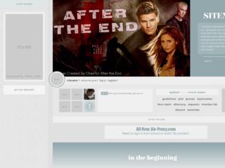 Screenshot of http://buffyaftertheend.jcink.net