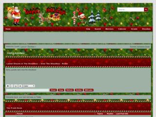 Screenshot of https://creativeanimations.jcink.net