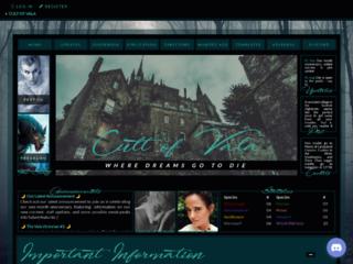 Screenshot of https://cultofvala.jcink.net