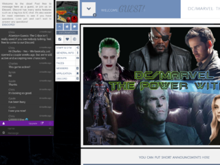 Screenshot of https://dcmarveltpw.jcink.net