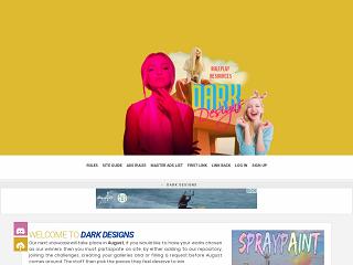 Screenshot of https://ddr.jcink.net