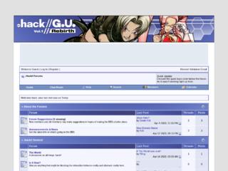 Screenshot of http://dothack.world