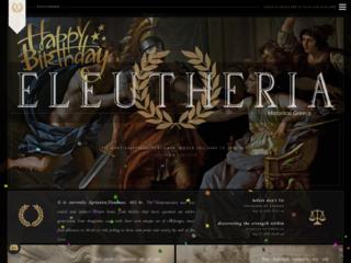 Screenshot of https://eleutheria.jcink.net