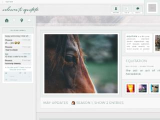 Screenshot of http://equitate.jcink.net