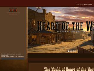 Screenshot of http://heartofthewest.jcink.net