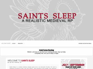 Saints Sleep
