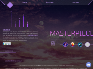 Screenshot of http://mprp.jcink.net