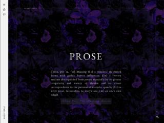 Prose: A Period Drama RPG