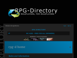 Screenshot of https://rpgdirectory.jcink.net