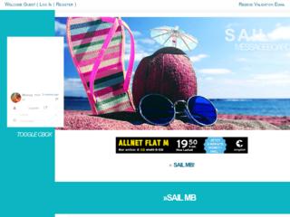 Screenshot of https://sailmb.jcink.net