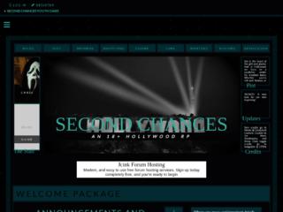 Screenshot of https://secondchancesyouthoasis.jcink.net