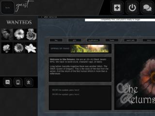 Screenshot of https://secondcoming.jcink.net