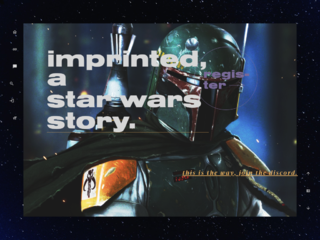 IMPRINTED, a star wars story