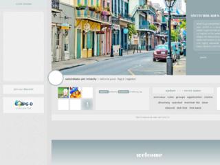 Screenshot of http://switchbladesandinfidelity.jcink.net