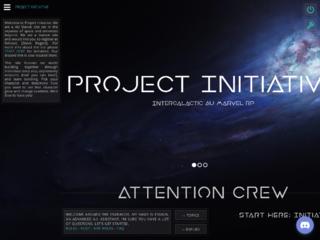 Screenshot of https://theprojectinitiative.jcink.net