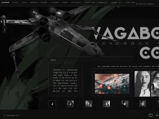 Screenshot of https://vagabondcode.com