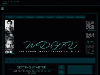 Screenshot of http://wdgtdrp.jcink.net