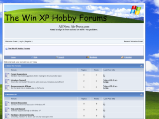 The Win XP Hobby Forums