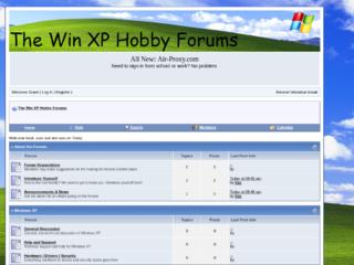 Screenshot of http://winxp.jcink.net